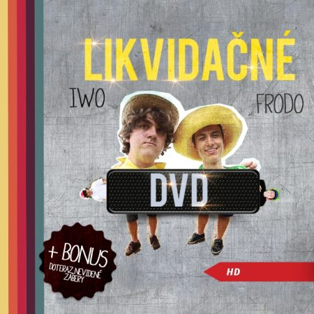 Likvidačné DVD
