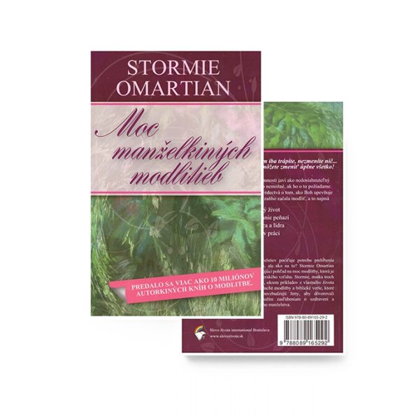 MOC MANŽELKINÝCH MODLITIEB – Stormie Omartian