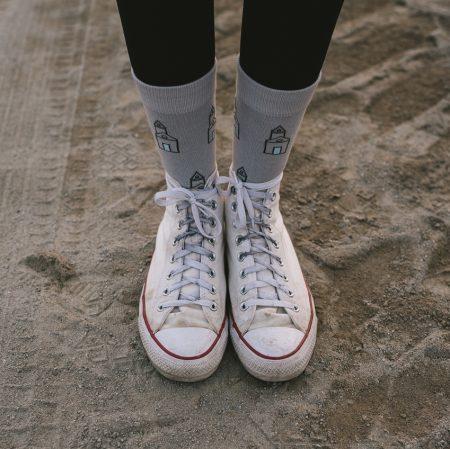 Ponožky – kostolíky