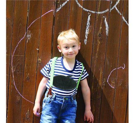TABUĽOVÉ TRIČKO – detské tričko